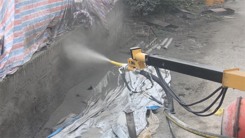 混凝土湿喷机 SP-2515隧道湿喷技术