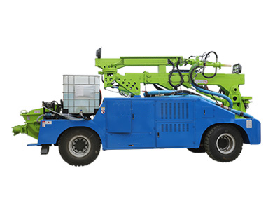 LZSP-B轮式湿喷机械手